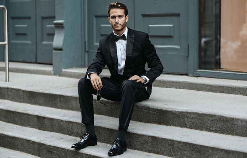 Crne muške Oksford cipele: Za svečane prilike