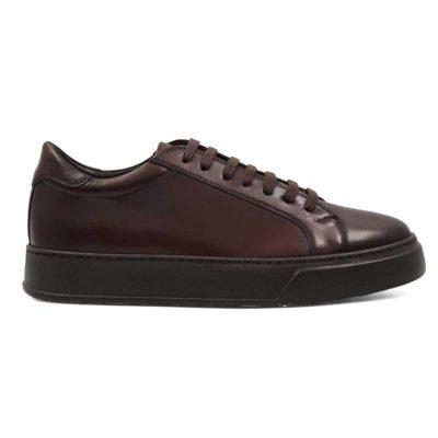 Elegantne muške patike cipele Seven Holes izradjene od vrhunske Nappa kože,