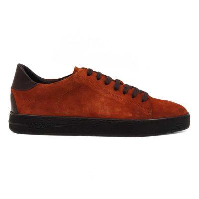Muške cipele za jesen Red/Blue od prvoklasne teleće Nappa i prevrnute kože.